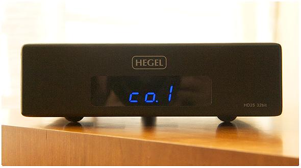 Test : convertisseur N/A Hegel HD25